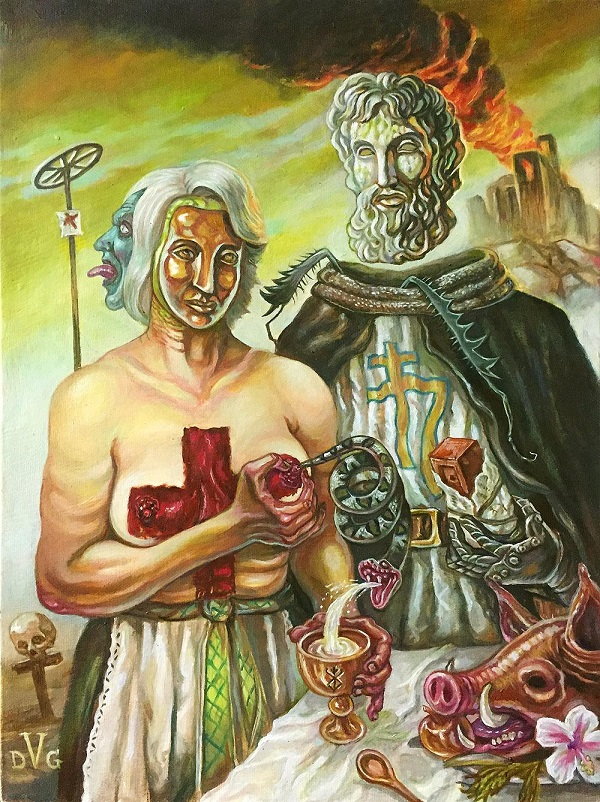 RETURN OF ERIS OF TROY by David Van Gough